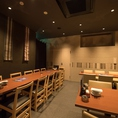 博多織りの帯が施された優雅な個室は最大24名様まで!