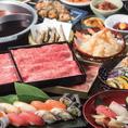 コースに応じタッチパネルでご注文いただく巴なら、お席でのんびりとお食事をお楽しみ頂けます。全69品の食べ放題コースには100分間のドリンク飲み放題を追加できます。お寿司や天ぷら、ズワイガニなど豊富なメニューで大満足◎デートや接待、ファミリーや宴会までいつでもお任せください!