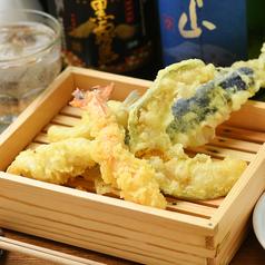 料理メニュー写真天ぷら盛り合わせ 5種