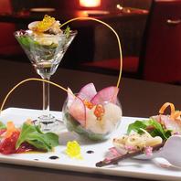 【イタリア料理×日本料理】の融合で新しい味を創作。