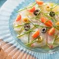 料理メニュー写真鮮魚のカルパッチョ カンティーナスタイル