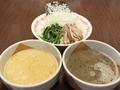 料理メニュー写真【2014年 夏季限定 1日15食】 白or黒の坦々つけ麺