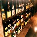 【完全予約制】本格焼酎や地酒、日本酒など、お酒の種類も豊富です☆単品飲み放題は1500円(税抜)~ご用意!