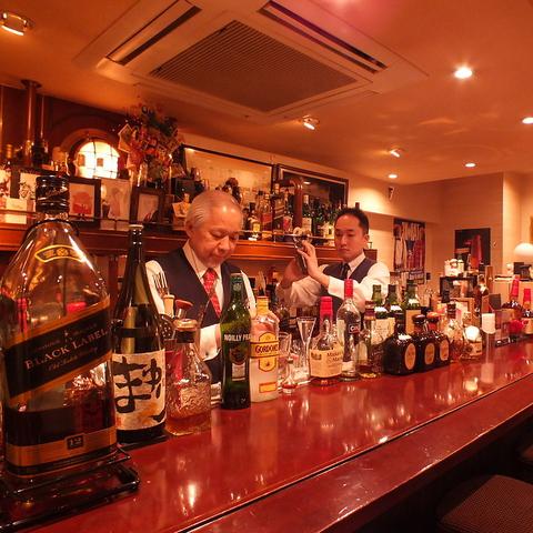 毛利Barで5年修行して独立した日下部氏の癒しの空間