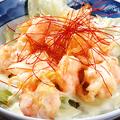 料理メニュー写真ぷりっぷりのエビマヨ