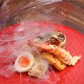 料理メニュー写真天ぷらの瞬間燻製