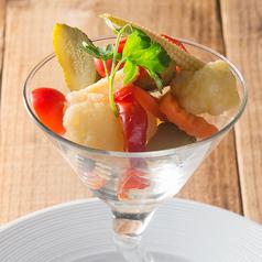 料理メニュー写真野菜のピクルス