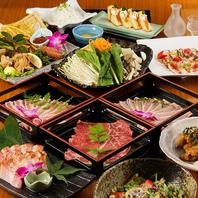 ★季節野菜と黒豚肉のしゃぶしゃぶ食べ放題3500円!!
