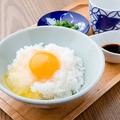 料理メニュー写真名物!中道さんの炊き立て卵かけご飯
