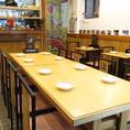 【テーブル】8名様テーブルです