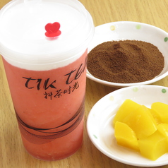 タピオカティー Tiktea 抖の茶の写真