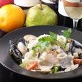 料理メニュー写真海鮮シーザーサラダ