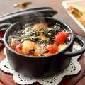 料理メニュー写真ムール貝と小海老のアヒージョ