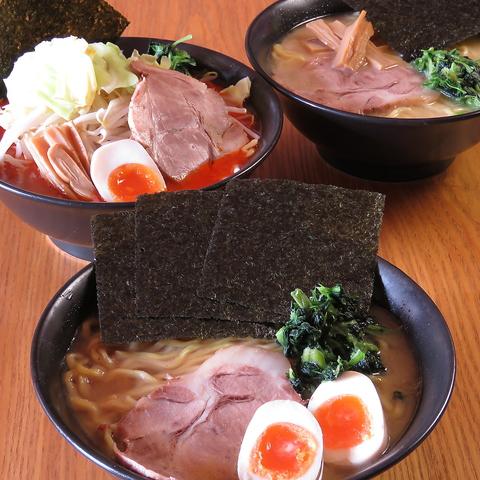 新潟で食べれる家系ラーメンで大人気!