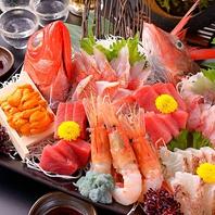 【鮮度に自信!】市場より毎朝仕入れる鮮魚!
