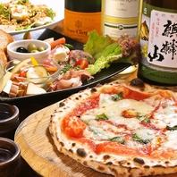 飲み放題付きコースはお料理が6品ついて3500円~♪