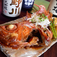 コースも単品も♪北海道の厳選した食材・海鮮をご用意!