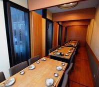 【完全個室】最大36名迄OKのテーブル個室