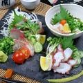 料理メニュー写真お刺身3種盛り