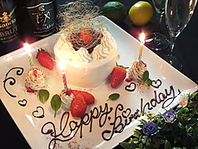 嬉しいホールケーキ♪