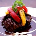 料理メニュー写真国産牛ホホ肉のデミグラスソース煮込み
