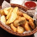 料理メニュー写真一口フィッシュ&チップス