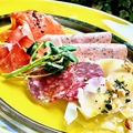 料理メニュー写真シェフのおすすめ 前菜5種盛合せ(2~3名様)