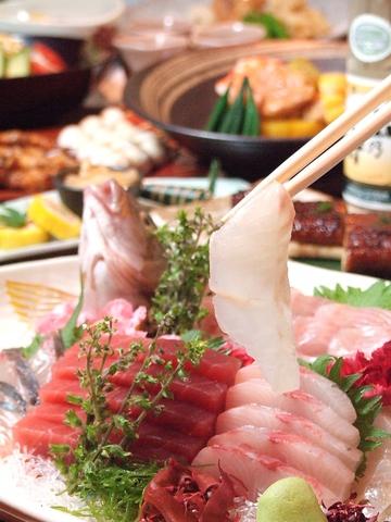 【GO TO EATキャンペーン対応!】【喫煙席】美味しい旬の魚と串焼をお楽しみ下さい。