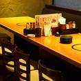 10~12名のお席♪宴会に最適!串と鍋両方楽しめるコース全12品4280円!