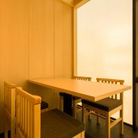 【全席完全個室】御接待や御宴会など会食に最適です。