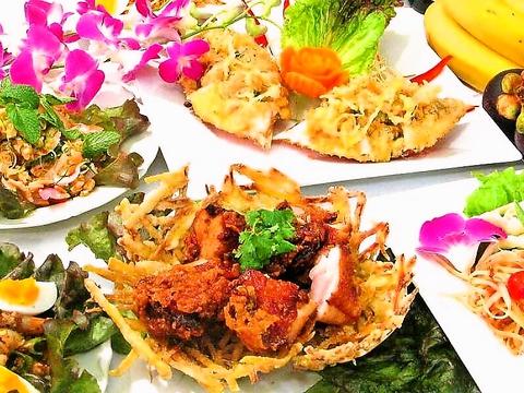 川崎のタイ料理はサイアムヘリテイジへ。美味しいカレーにガパオ♪