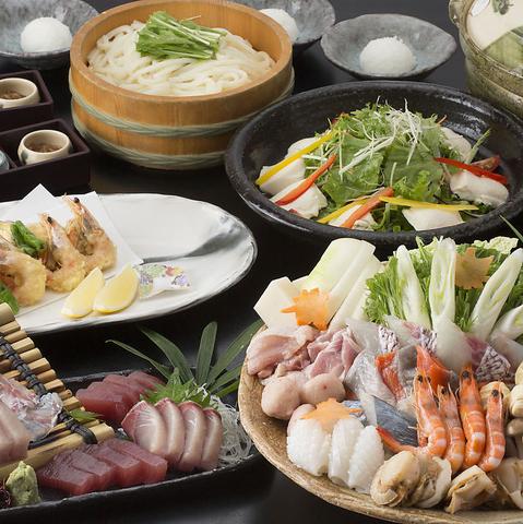 旬素材をふんだんに使用した逸品やコースが豊富!極上和食で至福のひとときを…