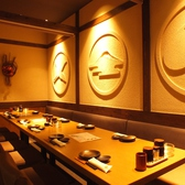 【3F】テーブル席は簾を外して宴会も可能