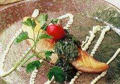 料理メニュー写真●サーモンのステーキ