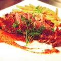 料理メニュー写真ボリュームたっぷり!牛リブアイロールステーキのグリル