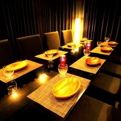 最大8名様までのテーブル個室空間です!