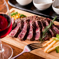 肉×ワイン♪マリアージュを楽しんで