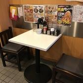 テーブル席を6席ご用意しております!家族連れのお客様や友人との食事にも◎丸十は姫路駅から徒歩5分!おすすめの豚骨ラーメンを是非ご堪能ください!コシがありもちもちの麺に、スープがよく絡んで癖になる美味しさです◎