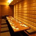 7名~10名【掘りごたつ個室】宴会にピタリのお席をご用意いたしております!