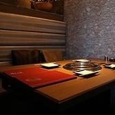 テーブルソファー個室