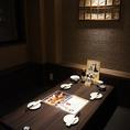 完全個室を完備しているので接待や会食にもご利用頂けます。4名様から最大12名様用の個室もございます!