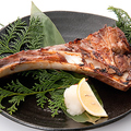 料理メニュー写真鮪かま塩焼き