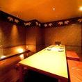 VIPルームは、接待や会社宴会にオススメの個室(最大10名様まで対応できる団体個室もございます)