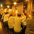 2F席は会社宴会に使っていただけるお席をいくつもご用意!8名様・10名様・20名様・40名様など…各種宴会にピッタリです。