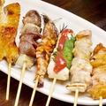 料理メニュー写真お得な串盛り(6本)