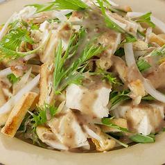 豆腐のごまドレサラダ