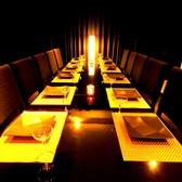 最大12名様までのテーブル個室空間です!