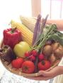 新鮮な野菜が届きます♪