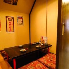 【2階】プライベート個室のご予約はお早目に!