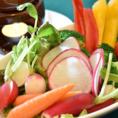 彩り鮮やかなサラダで身体の中から美しくなちゃうましょう!≪ビューティーサラダ≫や≪こるくの愛情サラダ≫などは女子会にピッタリのメニューです!